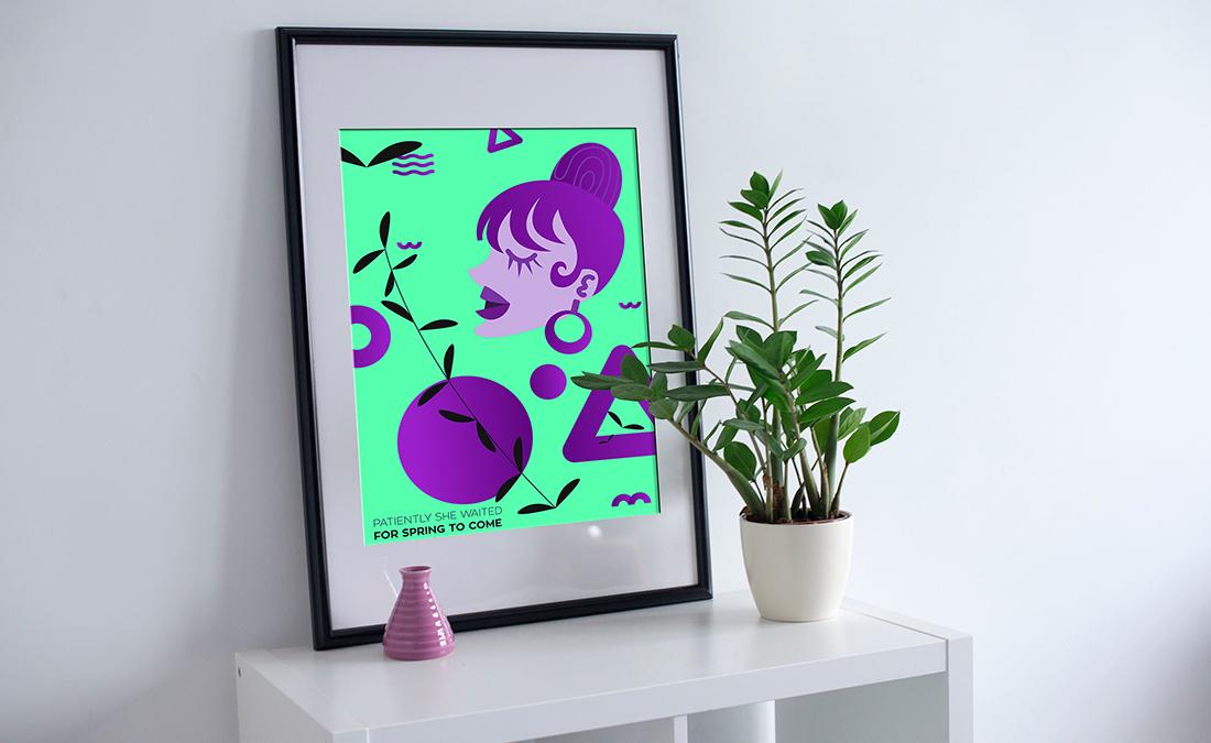 Spring Poster Design